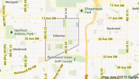 map of killarney
